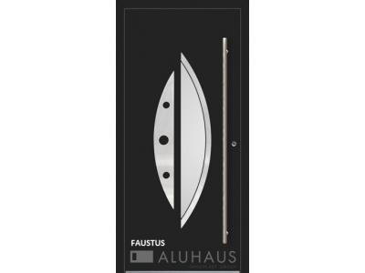 Faustus vchodové hliníkové dvere do domu oknoplast prymat Košice Bardejov Prešov Vzorový dom.jpg