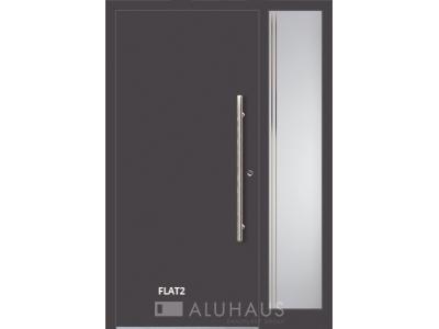 Flat2 vchodové hliníkové dvere do domu oknoplast prymat Košice Bardejov Prešov Vzorový dom.jpg
