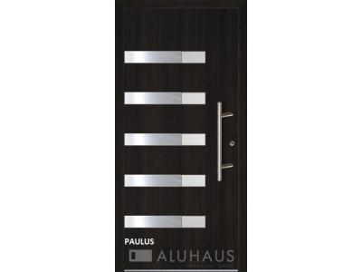 Paulus vchodové hliníkové dvere do domu oknoplast prymat Košice Bardejov Prešov Vzorový dom.jpg